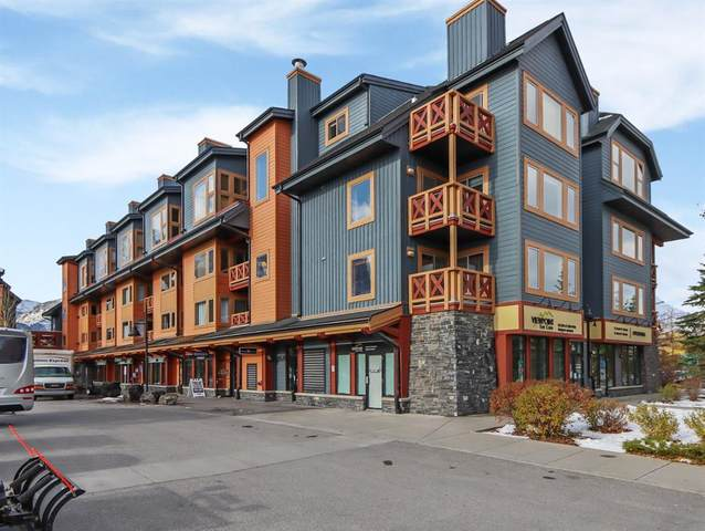 1160 Railway Avenue #209, Canmore, AB T1W 1P4 (#A1043309) :: Western Elite Real Estate Group