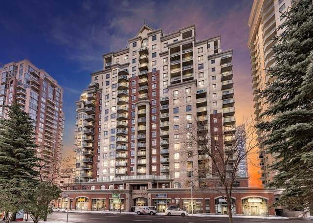 1111 6 Avenue SW #1208, Calgary, AB T2P 5M5 (#A1043360) :: Canmore & Banff