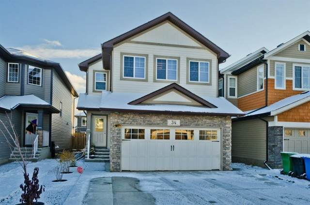 34 Skyview Shores Crescent NE, Calgary, AB T3N 0C4 (#A1043390) :: Canmore & Banff