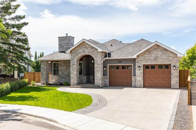 25 Rosery Place NW, Calgary, AB T2K 1L3 (#A1043473) :: Canmore & Banff