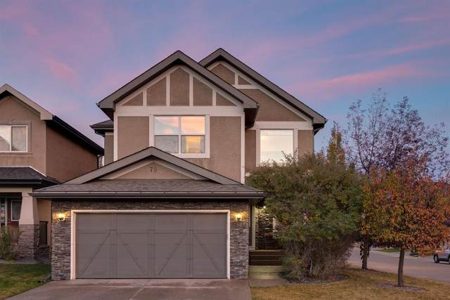 79 Wentworth Crescent SW, Calgary, AB T3H 5V2 (#A1043632) :: Canmore & Banff