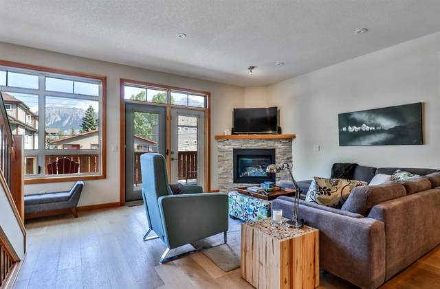810 5th Street #2, Canmore, AB T1W 2G4 (#A1043658) :: Canmore & Banff