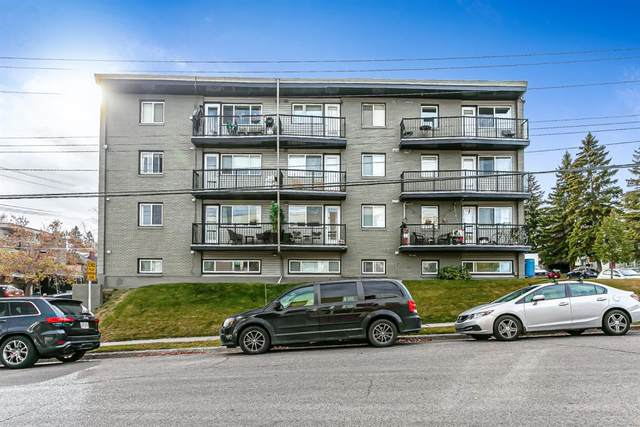 2104 17 Street SW #8, Calgary, AB T2T 4M4 (#A1043693) :: Canmore & Banff