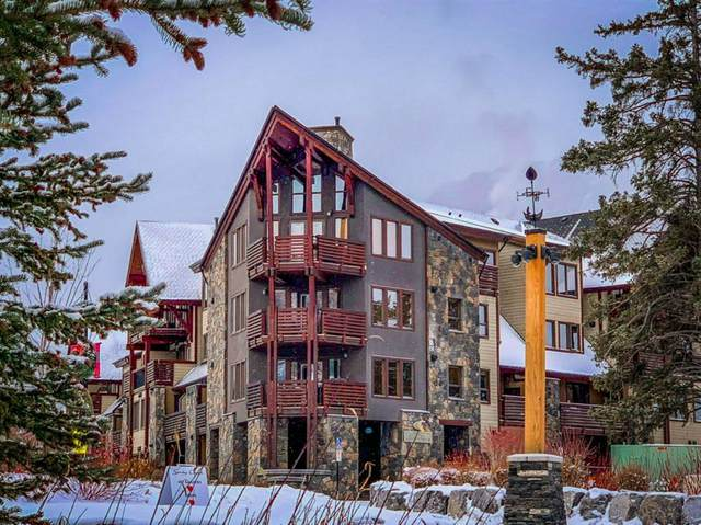 379 Spring Creek Drive #404, Canmore, AB T1W 0G8 (#A1043751) :: Canmore & Banff
