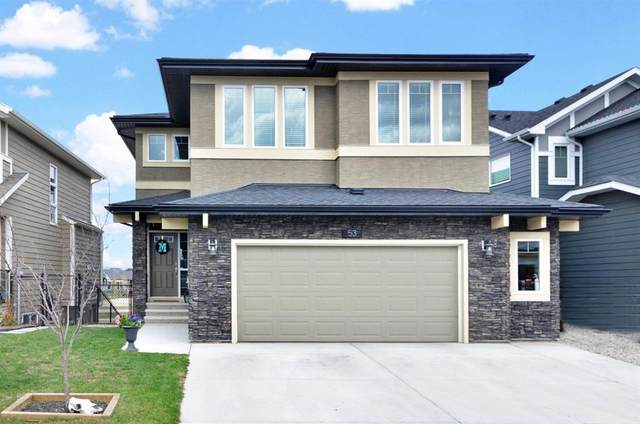 53 Cimarron Springs Circle, Okotoks, AB T1S 0M2 (#A1043915) :: Canmore & Banff
