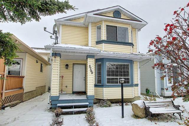 3758 Catalina Boulevard NE, Calgary, AB T1Y 6Y2 (#A1043938) :: Canmore & Banff
