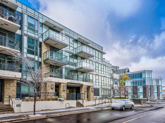 51 Waterfront Mews SW #113, Calgary, AB T2P 0X3 (#A1044022) :: Canmore & Banff
