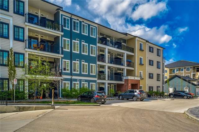 215 Legacy Boulevard SE #2317, Calgary, AB T2X 3Z6 (#A1044049) :: Canmore & Banff