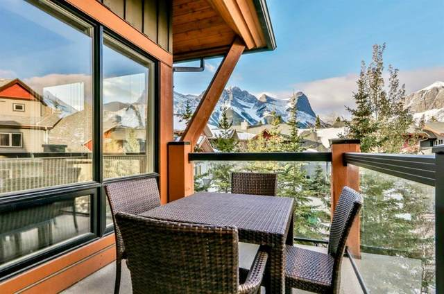 187 Kananaskis Way #207, Canmore, AB T1W 0A2 (#A1044051) :: Canmore & Banff