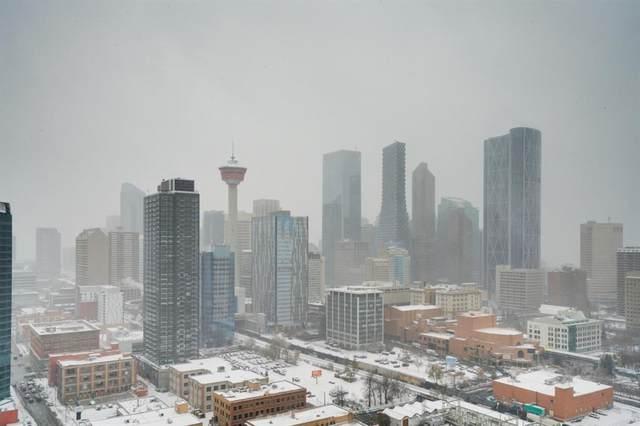 1122 3 Street SE #2608, Calgary, AB T2G 0E7 (#A1044372) :: Canmore & Banff