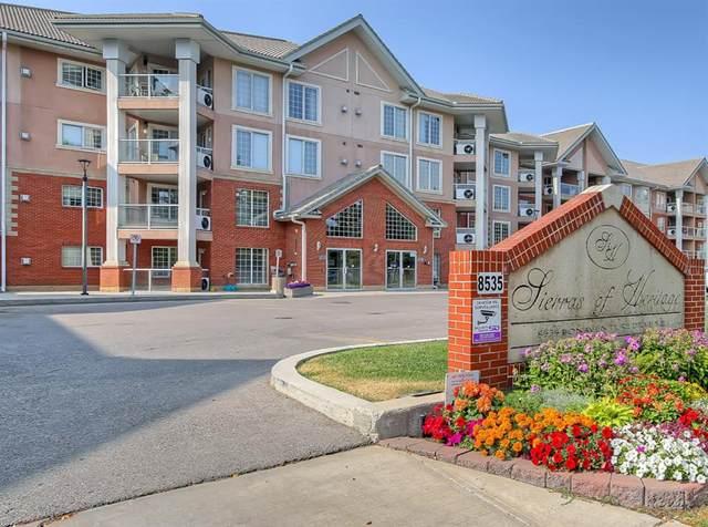 8535 Bonaventure Drive SE #339, Calgary, AB T3H 3A1 (#A1044401) :: Canmore & Banff