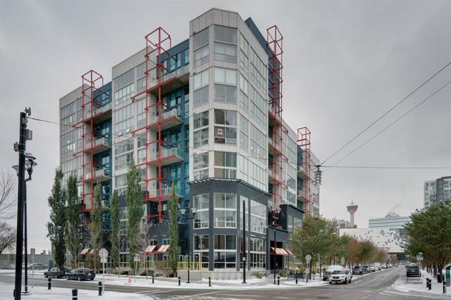 535 8 Avenue SE #415, Calgary, AB T2G 5S8 (#A1044456) :: Canmore & Banff
