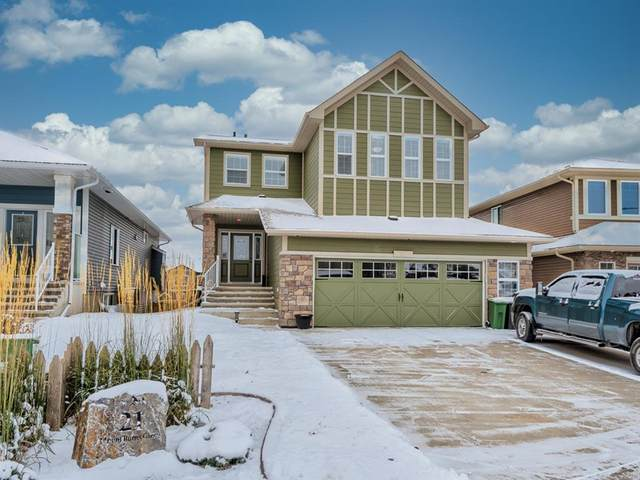 21 Mount Burns Green, Okotoks, AB T1S 0L7 (#A1044473) :: Calgary Homefinders