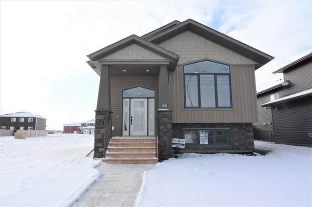 65 Mackenzie Avenue, Lacombe, AB T4L 0H9 (#A1044510) :: Canmore & Banff