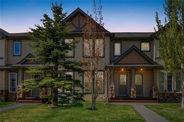2445 Kingsland Road SE #1103, Airdrie, AB T4A 0B6 (#A1044518) :: Canmore & Banff