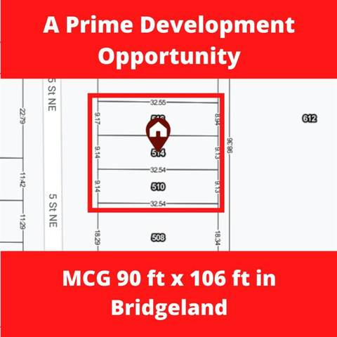 510/514/516 5 Street NE, Calgary, AB T2E 3W6 (#A1044552) :: Canmore & Banff