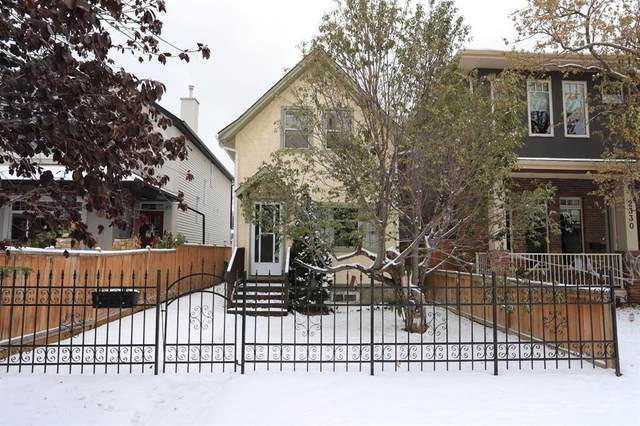 2332 3 Avenue NW, Calgary, AB T2N 0K8 (#A1044695) :: Canmore & Banff