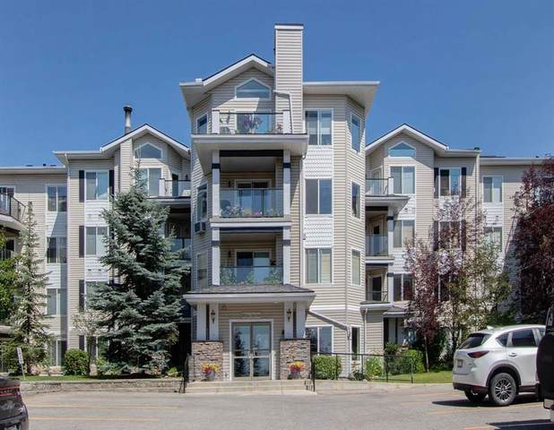 345 Rocky Vista Park NW #122, Calgary, AB T3G 5K6 (#A1044716) :: Canmore & Banff