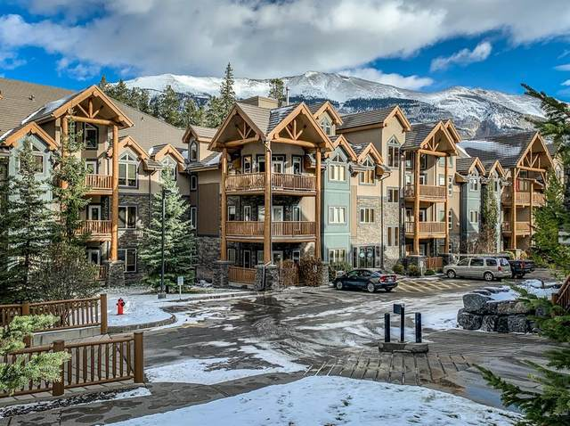 175 Crossbow Place #305, Canmore, AB T1W 3H7 (#A1044919) :: Canmore & Banff