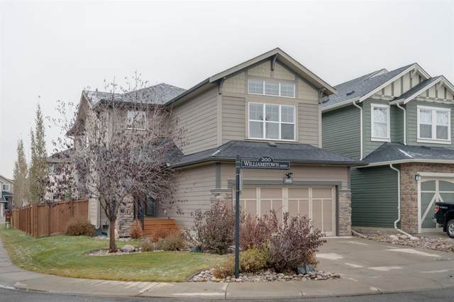 202 Williamstown Green NW, Airdrie, AB T4B 0S9 (#A1044993) :: Canmore & Banff