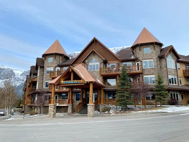 30 Lincoln Park #421, Canmore, AB T1W 3E9 (#A1045251) :: Canmore & Banff