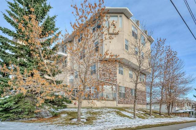 6550 Old Banff Coach Road SW #114, Calgary, AB T3H 4J4 (#A1045271) :: Canmore & Banff