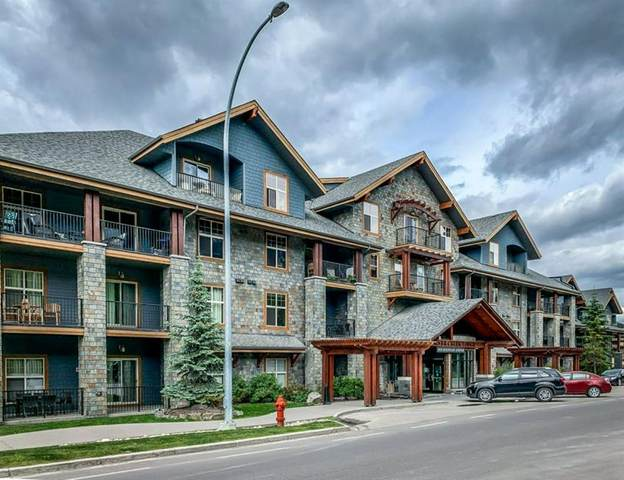 1818 Mountain Avenue #113, Canmore, AB T1W 3M3 (#A1045409) :: Canmore & Banff