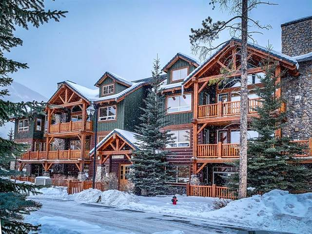 104 Armstrong Place #121, Canmore, AB T1W 3L5 (#A1045535) :: Canmore & Banff