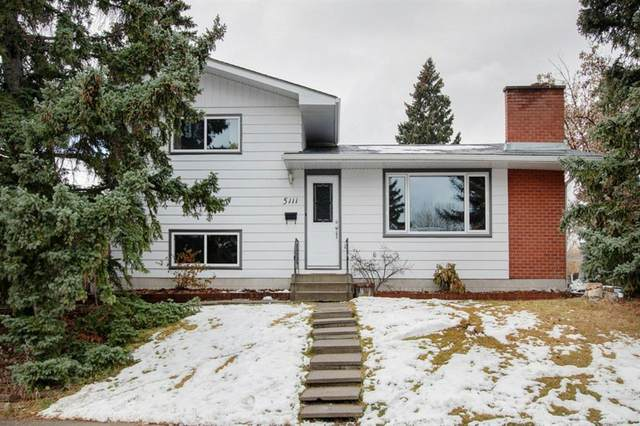 5111 Veronica Road NW, Calgary, AB T3A 0T4 (#A1045556) :: Canmore & Banff