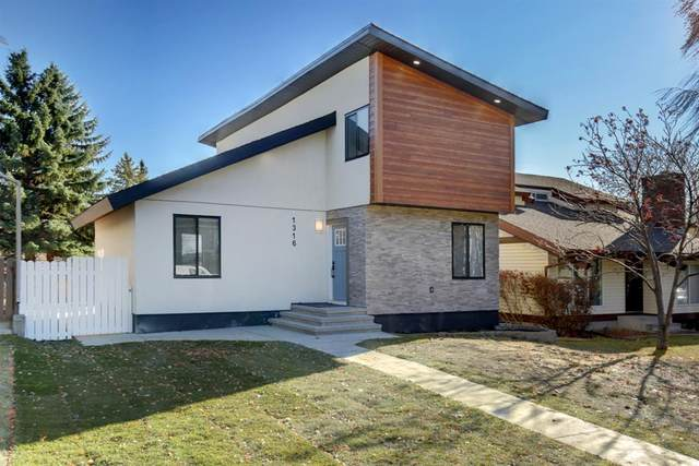 1316 56 Avenue NW, Calgary, AB T2K 5M3 (#A1045866) :: Canmore & Banff