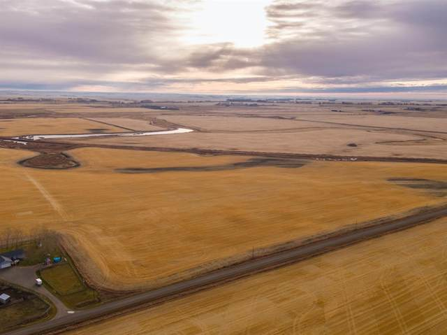 Range Road 270, Rural Wheatland County, AB T2P 2G7 (#A1046015) :: Canmore & Banff