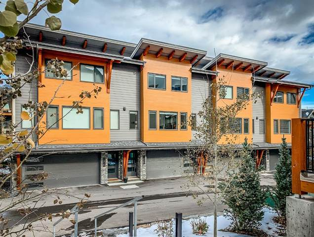 1101 Three Sisters Parkway 102D, Canmore, AB T1W 0G6 (#A1046041) :: Canmore & Banff