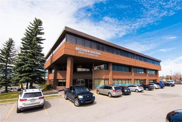 2816 11 Street NE #200, Calgary, AB T2E 7S7 (#A1046148) :: Redline Real Estate Group Inc