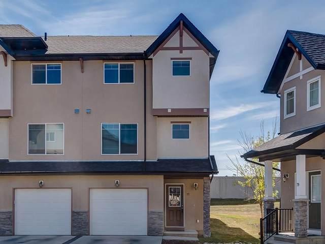 77 Cimarron Vista Gardens, Okotoks, AB T1S 0G3 (#A1046616) :: Redline Real Estate Group Inc