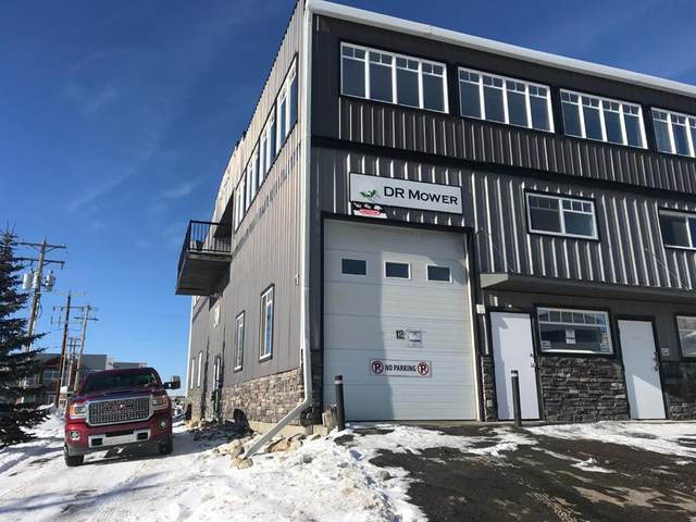 12 Griffin Industrial Point, Cochrane, AB T4C 0A3 (#A1048191) :: Redline Real Estate Group Inc