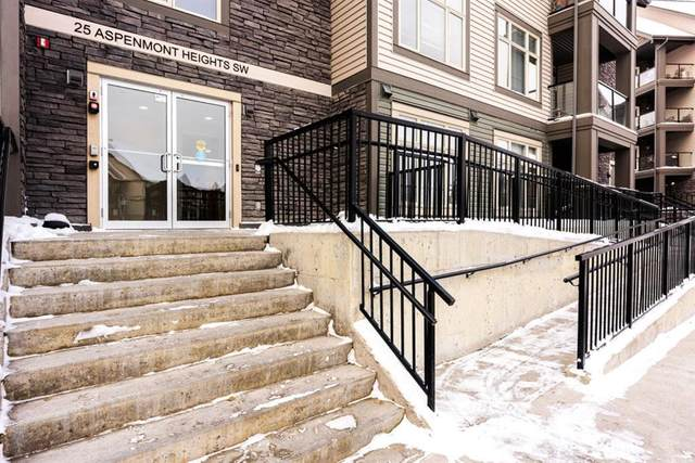 25 Aspenmont Heights SW #310, Calgary, AB T3H 0E4 (#A1048749) :: Redline Real Estate Group Inc