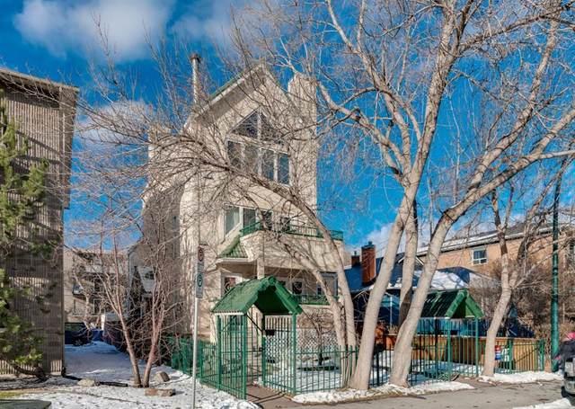 708 2 Avenue NW #2, Calgary, AB T2N 0E3 (#A1049118) :: The Cliff Stevenson Group