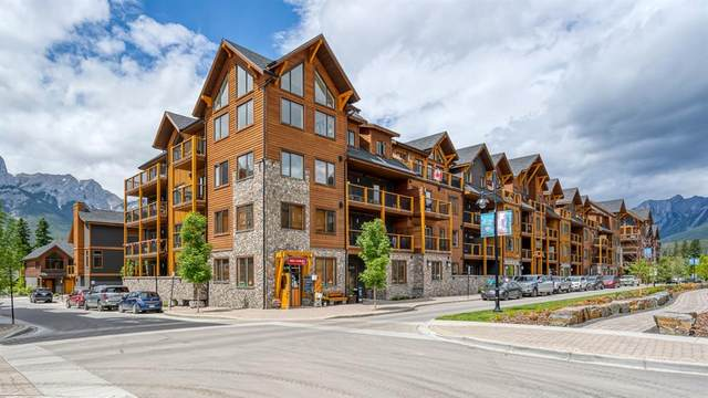 707 Spring Creek Drive #403, Canmore, AB T1W 0K7 (#A1050235) :: Canmore & Banff