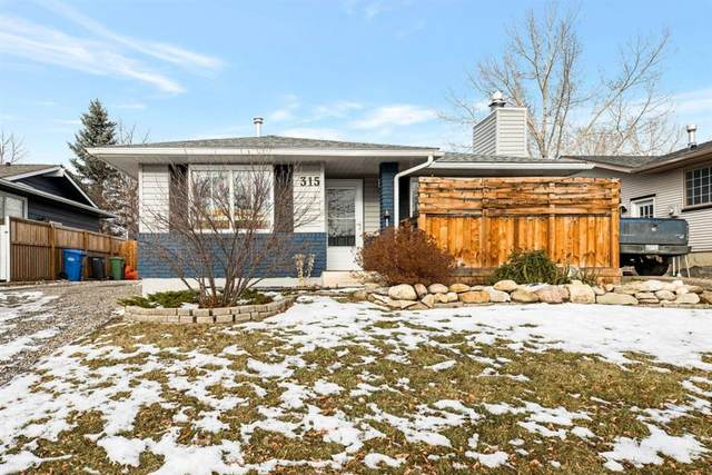315 Banister Drive, Okotoks, AB T1S 1E4 (#A1050633) :: Canmore & Banff