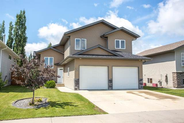 79 Terrace Heights Drive, Lacombe, AB T4L 0A8 (#A1050722) :: The Cliff Stevenson Group