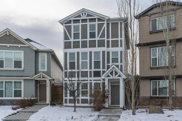 228 New Brighton Grove SE, Calgary, AB T2Z 1G2 (#A1050867) :: Redline Real Estate Group Inc