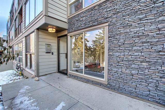 2130 17 Street SW #407, Calgary, AB T2T 4M4 (#A1050932) :: The Cliff Stevenson Group