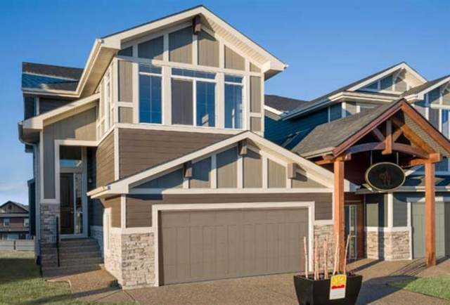 8 Sunrise Common, Cochrane, AB T4C 0Z9 (#A1051092) :: Redline Real Estate Group Inc