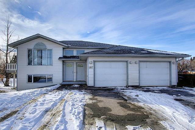 687 10 Avenue S, Carstairs, AB T0M 0N0 (#A1051146) :: Canmore & Banff
