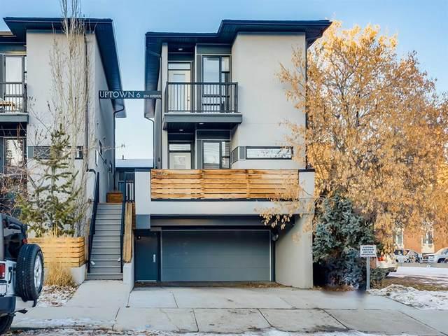 1508 22 Avenue SW #1, Calgary, AB T2T 0R5 (#A1051171) :: The Cliff Stevenson Group
