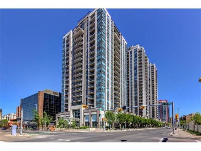 1110 11 Street SW #1602, Calgary, AB T2R 1S5 (#A1051447) :: The Cliff Stevenson Group