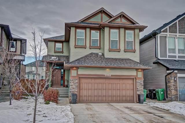 2086 Brightoncrest Common SE, Calgary, AB T2Z 1E7 (#A1051552) :: Redline Real Estate Group Inc