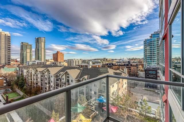 135 13 Avenue SW #710, Calgary, AB T2R 0W8 (#A1051599) :: Western Elite Real Estate Group