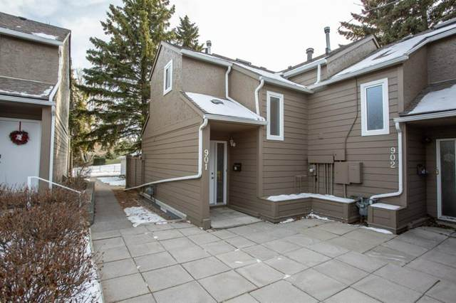 829 Coach Bluff Crescent SW #901, Calgary, AB T3H 1B1 (#A1051959) :: The Cliff Stevenson Group