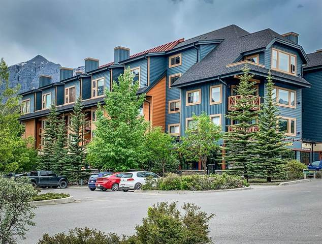 1120 Railway Avenue #203, Canmore, AB T1W 1P4 (#A1052081) :: Redline Real Estate Group Inc